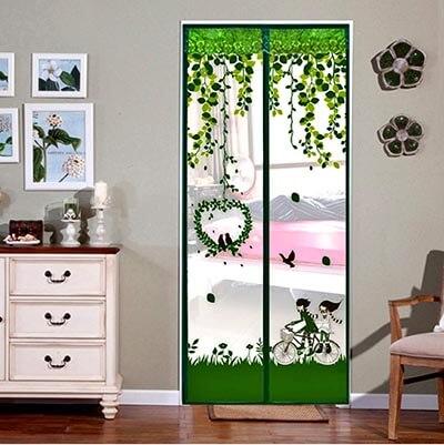 ESLETO Magnetic Screen Door Reinforced Mesh Curtain and Full Magnetic Frame Loop