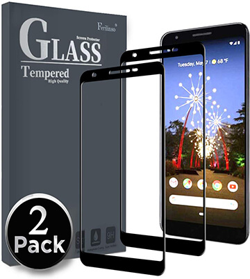 Ferilinso Tempered Glass Screen Protector for Google Pixel 3a XL