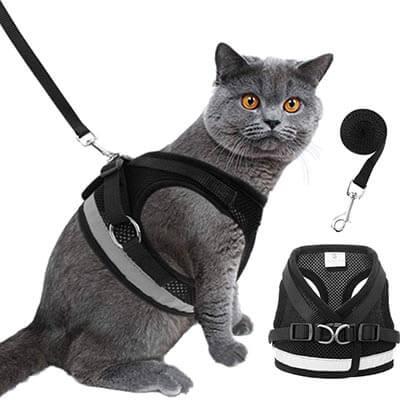 HOMIMP Reflective Cat Harness Vest