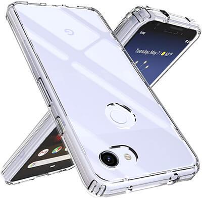 OUBA Google Pixel 3a XL Air Hybrid Slim Shockproof Case