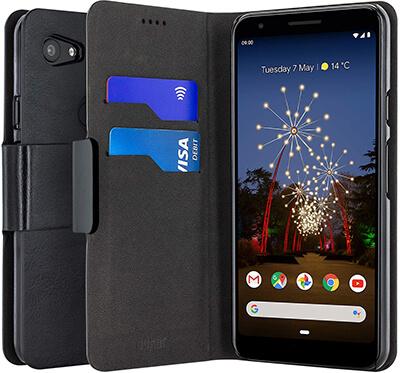 Olixar PU Faux Leather Google Pixel 3a XL Wallet Case