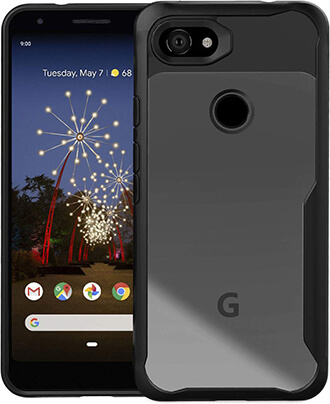 Orzero Premium Hybrid Protective Clear Case for Pixel 3a XL