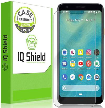 IQshield Google Pixel 3a Screen Protector