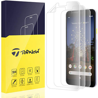 Topnow Google Pixel 3a Screen Protector