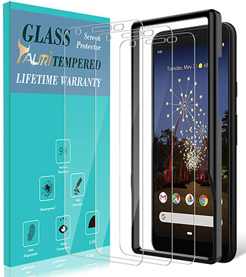 TAURI Google Pixel 3a XL Glass Screen Protector