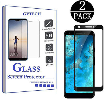 GVTECH Google Pixel 3A XL Full Coverage Screen Protector