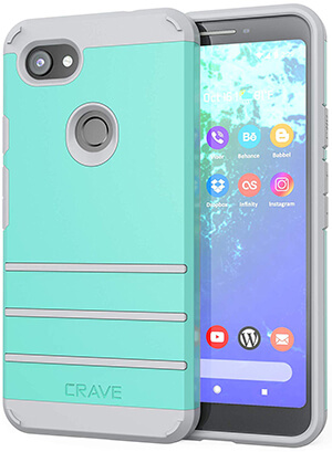 Crave Strong Heavy-Duty Protection Series Case for Pixel 3a XL