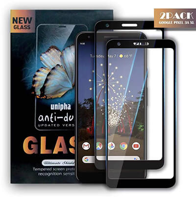 Zdai Google Pixel 3a XL Case Friendly Screen Protector