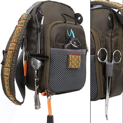 FanBellFly Fishing Chest Pack
