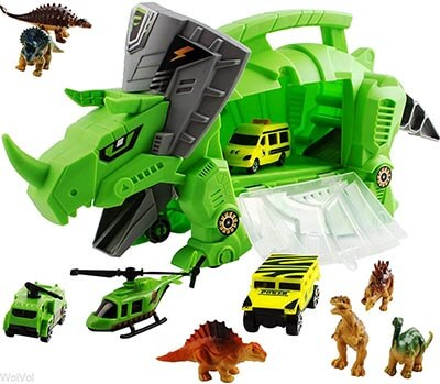 WolVol Perfect Dinosaur Storage Toys