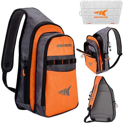 KastKing Outdoor Sling Bag Lightweight Single-Shoulder Bag