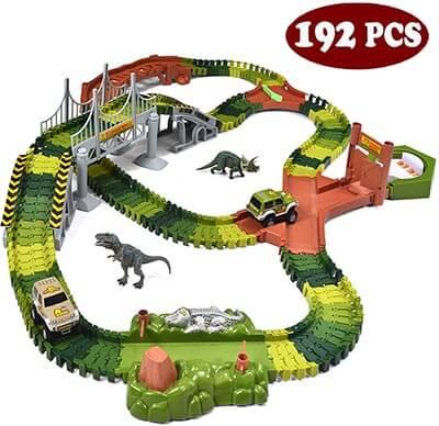 JOYIN Dinosaur World 192 Pieces Playset