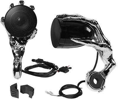 BOSS Audio Phantom900 Weatherproof Motorcycle Bluetooth Speaker System