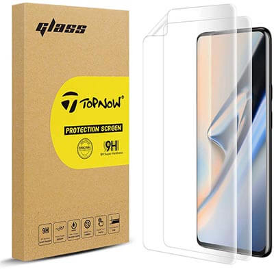 Topnow for OnePlus 7 Pro Screen Protector-2 Packs