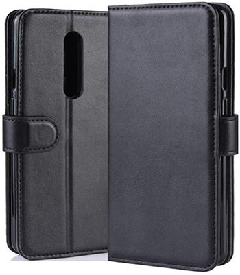 HualuBro OnePlus 7 Pro Leather Wallet Case