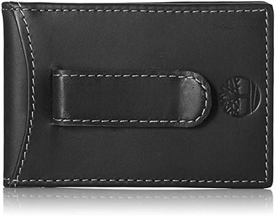 Timberland Men's Slim Money Clip Wallet