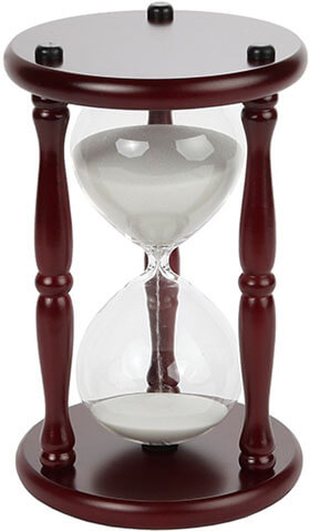 Lily's Home 60-Minute Hourglass Sand Timer