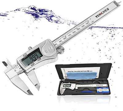 TENGYES Digital Caliper Micrometer Measuring Tool