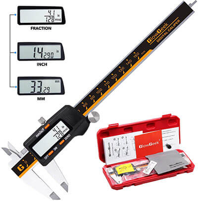 GlowGeek CD-6-150 Electronic Digital Vernier Caliper