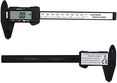 Zoostliss Electronic Carbon Fiber Vernier Calipers