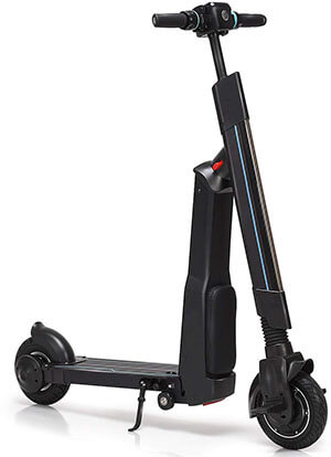 GYMAX Electric Scooter Foldable Kick Scooter, 36V Lithium Battery