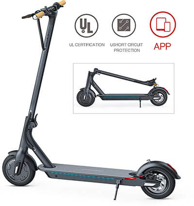 TOMOLOO Ultra-Lightweight Folding Electric Scooter