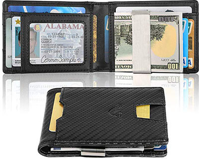 FinalBase Money Clip Slim Front Pocket Wallet