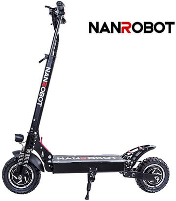 NANROBOT D4+ Pro High-Speed 2000W Motor Electric Scooter
