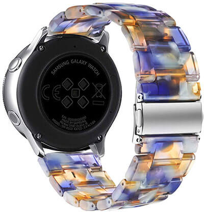 Omter Samsung Galaxy Watch Active Resin Band
