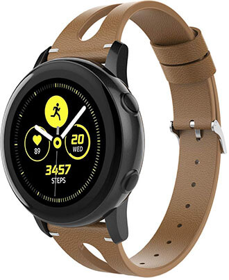 Alritz Samsung Galaxy Watch Leather Bands