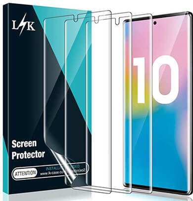 LK Screen Protector for Samsung Galaxy Note 10 Plus