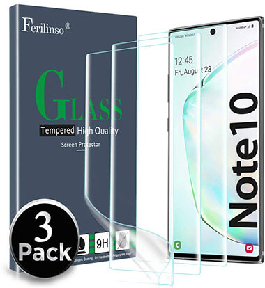 Ferilinso Screen Protector for Samsung Note 10