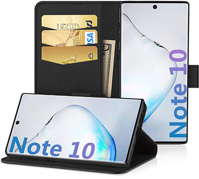 EasyAcc Wallet Case for Samsung Galaxy Note 10