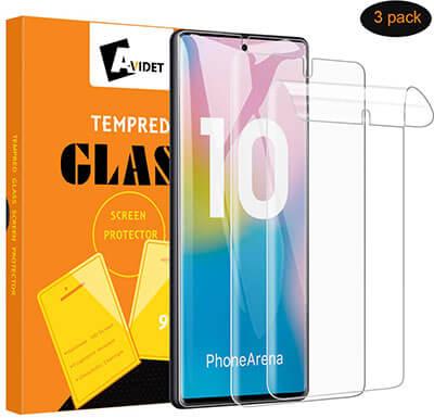 AVIDET Galaxy Note 10 Screen Soft Skin Flexible TPU Film