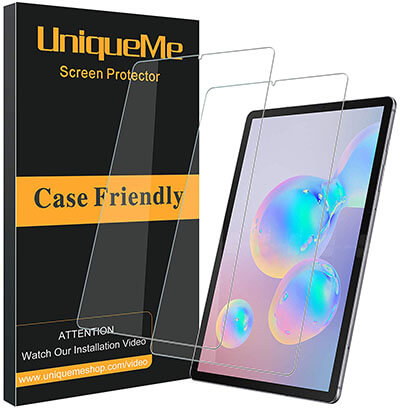 UniqueMe Compatible with Samsung Galaxy Tab S6 Screen Protector