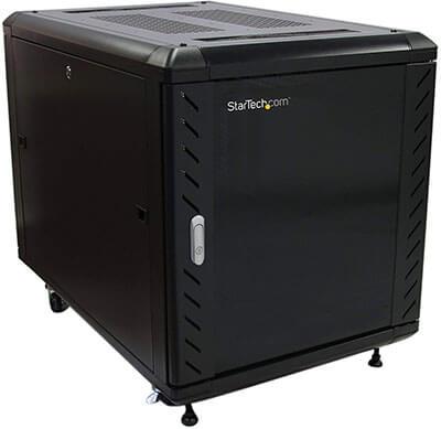 StarTech.com 12U AV Glass Door Rack Cabinet