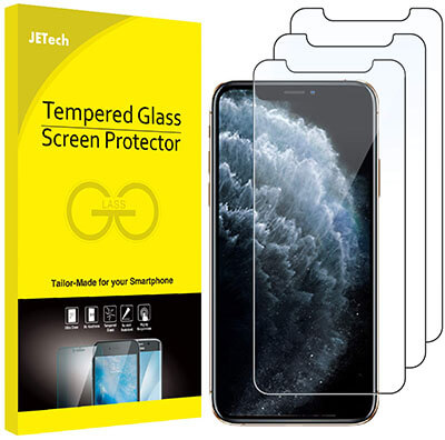 JETech iPhone 11 Pro Tempered Glass Screen Protector
