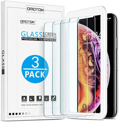OMOTON Screen Protector for Apple iPhone 11 Pro Max