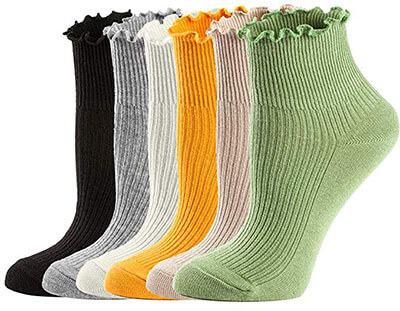 Mcool Mary Crew Low Cut Casual Socks