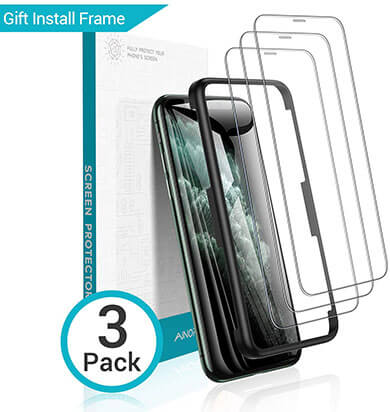 AINOPE Screen Protector Compatible with iPhone 11 Pro/ X / Xs