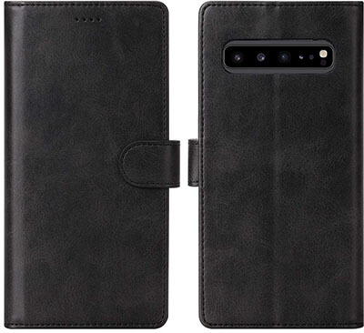 Feitenn Galaxy S10 5G Leather Case with Magnetic Closure