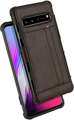 GOOSPERY Leather Wallet Cover for Samsung Galaxy S10 5G