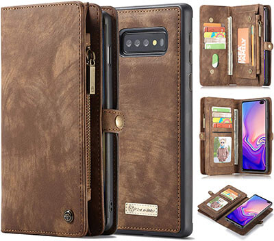 AKHVRS Handmade Premium Cowhide Leather Wallet Case