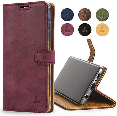 Snakehive Samsung Galaxy S10 5G Genuine Leather Wallet