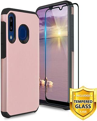 TJS Galaxy A50, A30 Rugged Amor Case