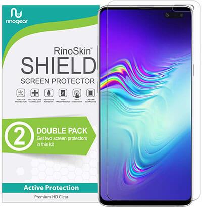 RinoGear Galaxy S10 Screen Protector, Fingerprint ID Compatible