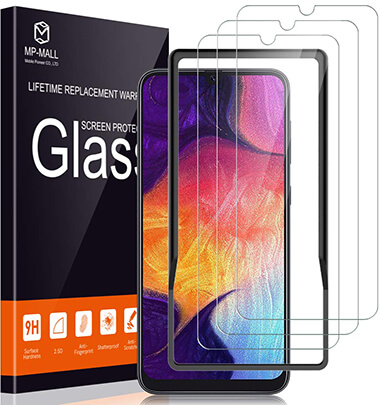 MP-MALL Case Friendly Galaxy A50 Screen Cover