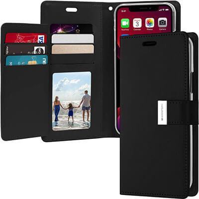 Goospery Rich Wallet for Apple iPhone 11 Pro Max Case