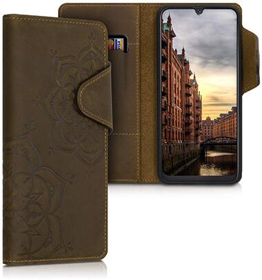 kalibri Samsung Galaxy A50 Leather Wallet Case