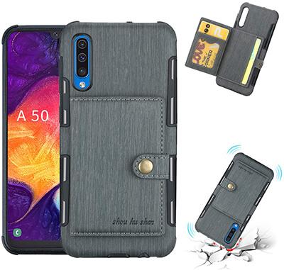 COPAAD Samsung Galaxy A50 Wallet Case